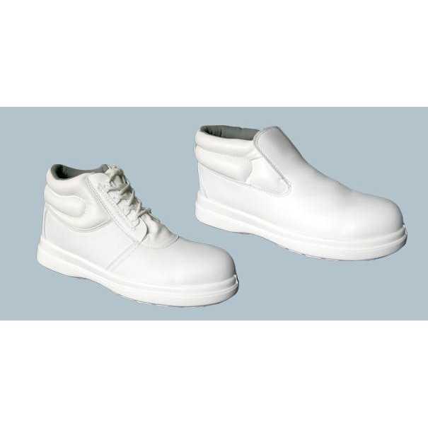 Chaussure de sécurité blanche