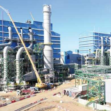 Phosphates et industrie chimiques