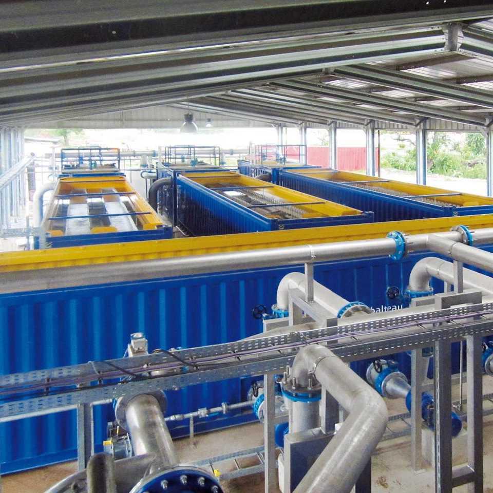 Adduction et traitement d'eau